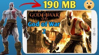 190 MB God of War 2 Ps2 Game Highly Compressed Play Without Problem