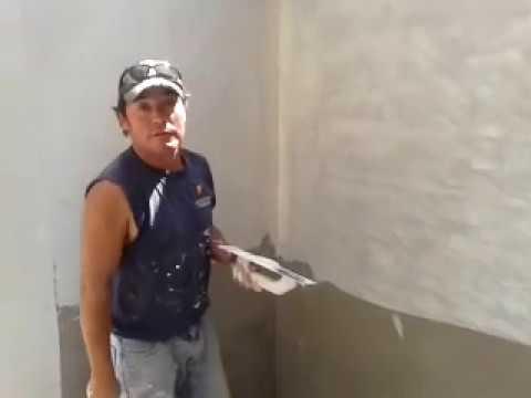 Como empastar una pared youtube - Como alicatar una pared ...