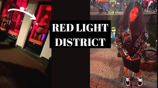 I Went To Amsterdam's RED LIGHT DISTRICT! + ROOM TOUR