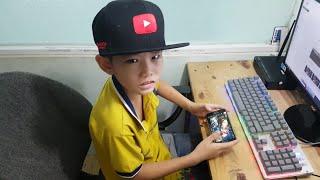 Trẻ Trâu 2007 - Một Youtuber Nổi Tiếng Sẽ Phá Rank Phê NTN , Pentakill Đơn Giản | Liên Quân Mobile