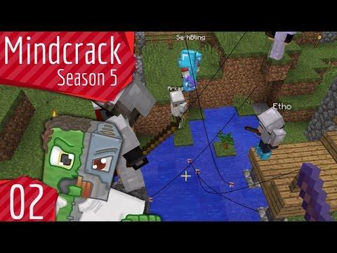 Battle Fishing #RIPSnuggles Mindcrack Server Season 5 Episode 2
