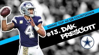Chris Simms' Top 40 QBs: Dak Prescott takes No.13 | Chris Simms Unbuttoned | NBC Sports
