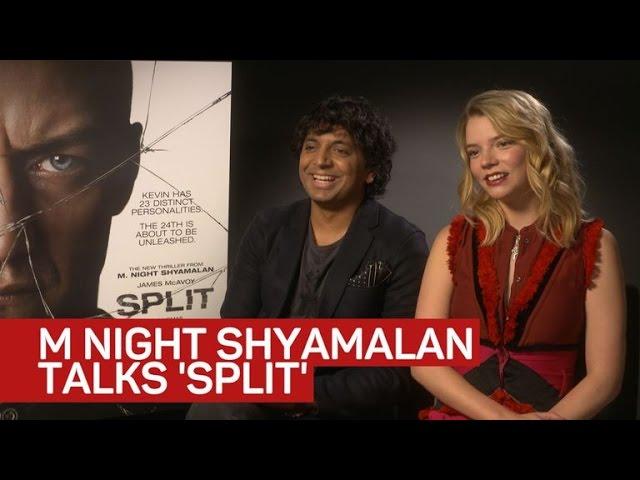 A 'Split' second with M. Night Shyamalan