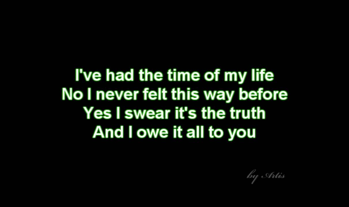 Time of my life - Dirty Dancing Soundtrack - YouTube