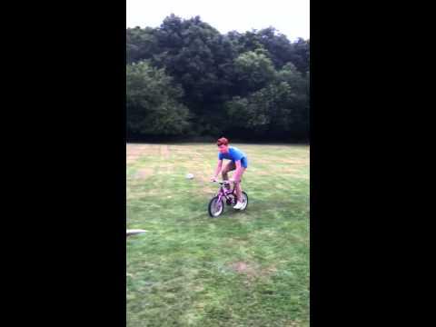 Mini bike stunt challenge **FAIL**