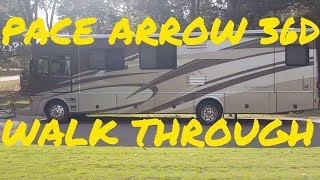 RV interior walk through - Fleetwood Pace Arrow 36D