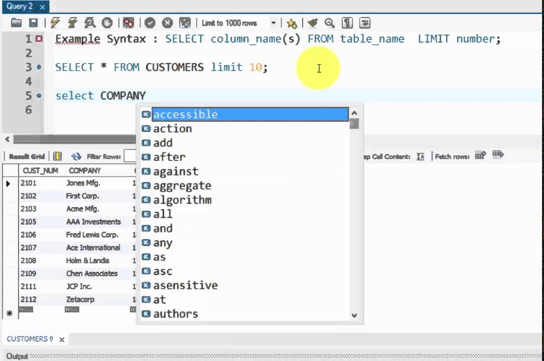 COMPLETE SQL TUTORIAL - SQL SELECT TOP Clause - Part 26 - YouTube