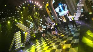 Girls' Generation SNSD - The Boys 소녀시대 - 더 보이즈 Music Core 20111119