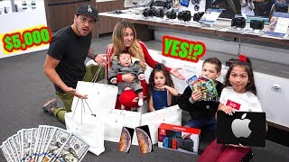 9 And 7 Year Olds Control Our Lives With $5,000 For 24 Hours | Familia Diamond