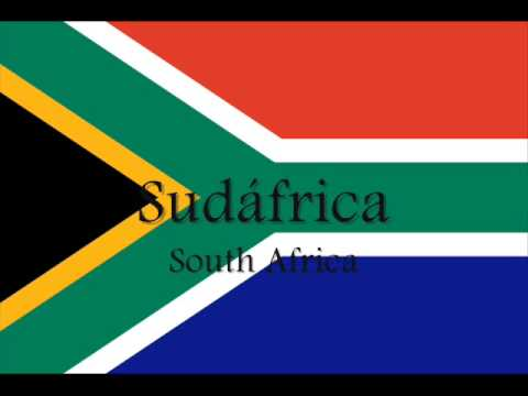 """Flags only of the 32 countries participating in the World Cup South Africa 2010"" With lyrics. Letra subtitulada. CC. Original name: ""Waving Flag Coca-Cola C..."