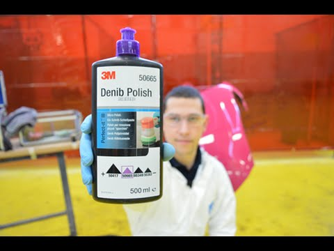 3M Denib Polish removing dirt inclusions