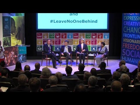"Remarks by Leaders at ""Leave No One Behind"" Forum"