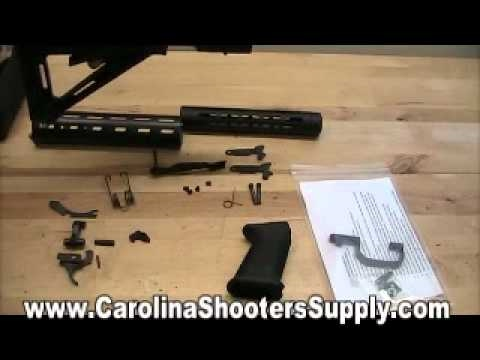 Saiga 12 Pistol Grip Conversion Part 3 AK47 Shotgun