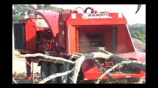 Bandit Model 3590 Whole Tree Chipper
