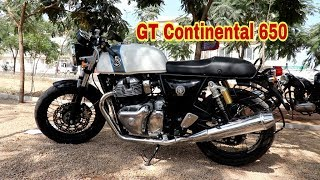Royal Enfield GT Continental 650 First Test Ride Review Pros Cons #BPC