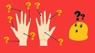 Parts of the finger : what are fingers called||Name of fingers on your hand