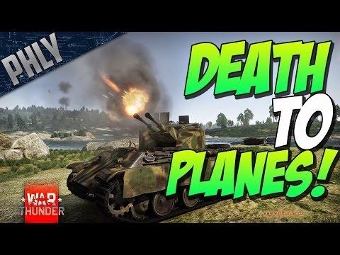 War Thunder - Flakpanzer COELIAN Vs BOMBERS (War Thunder Tank RB Gameplay)