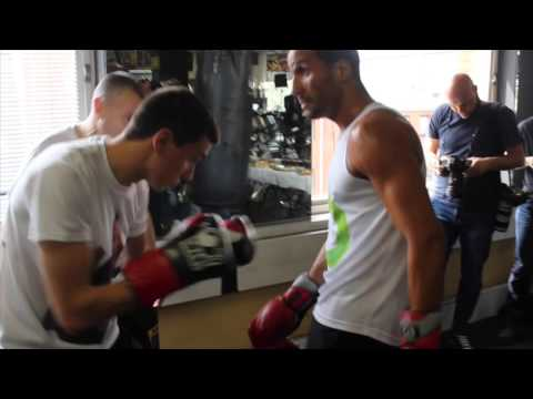 JAMES DeGALE EXPLOSIVE HEAVY BAG & CARDIO WORK WITH JIM McDONNELL / iFL TV