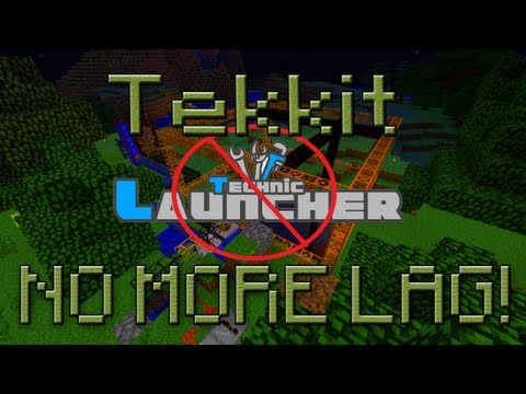 Tekkit Lag Spikes and Crashing Fix! (No More Technic Launcher)