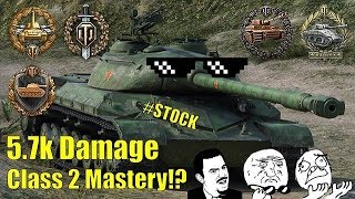 World of Tanks PS4 - WZ-111 model 1-4 (100mm) - 9 kills, CLASS 2 (with subs)