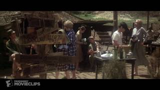MASH (4/5) Movie CLIP - A Shower With Hot Lips (1970) HD