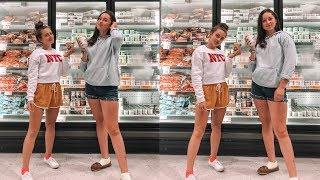 what teen girls do in grocery stores (last day of summer vlog)