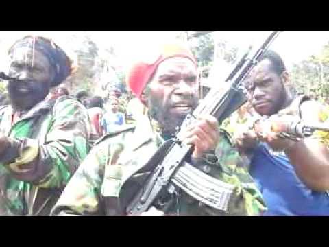 Gen  Goliat Tabuni Speaked For West Papua Independence On 11 12 2012 video