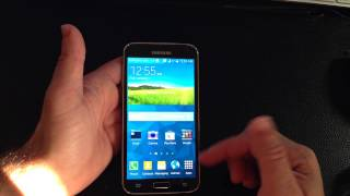 Samsung Galaxy S5 Tip: How create add and remove folders