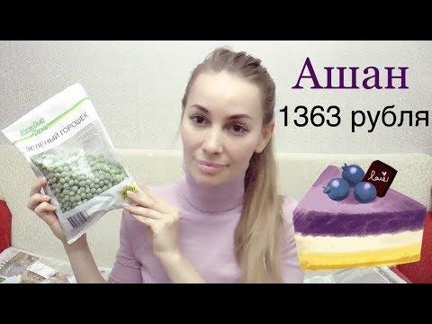 Покупки АШАН 1363 рубля