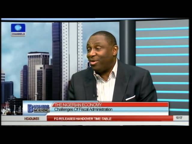 Business Morning: Challenges Of Nigeria's Fiscal Administration 24/04/15 Prt 1