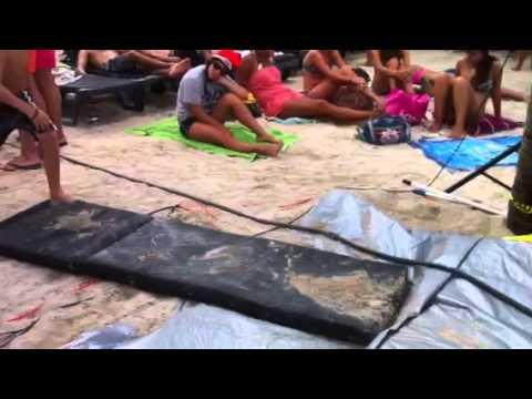 Nieuwjaarsduik Zanzibar 2013 video