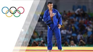 Sergiu Toma´s emotional reaction after getting a bronze medal for the UAE