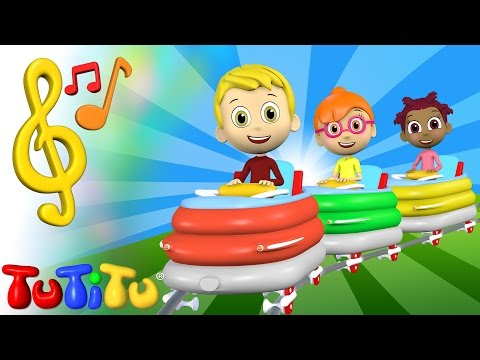 Piosenki Po Angielsku Dla Dzieci | Kolejka Górska | Nauka Angielskiego Dla Dzieci