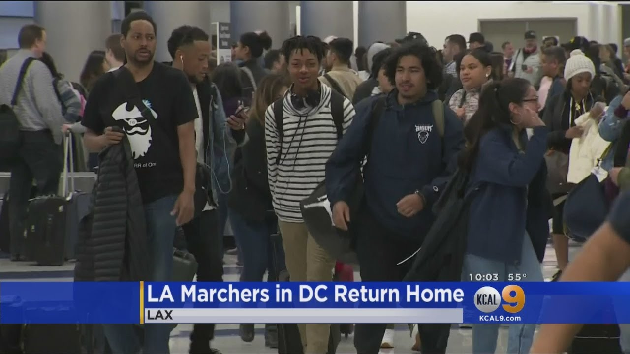 South LA Teens Return From DC March Against Gun Violence