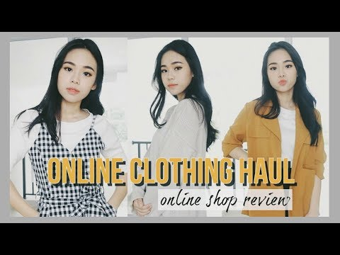 Online Fashion Store Try On Haul + Review : Pomelo Fashion. Berry Benka etc   Indonesia