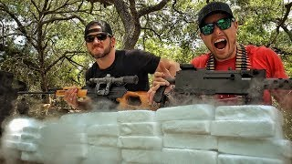 Shooting 500 Pounds of Dry Ice!!!