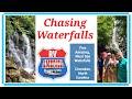 Chasing Waterfalls in Cherokee, NC  near Great Smoky Mountains
