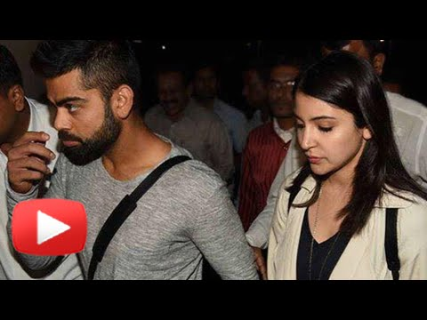 (VIDEO)Anushka Sharma Virat Kohli Return From Sydney EXCLUSIVE