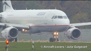 Aegean Airlines A320-232 [SX-DGE] Takeoff @ Berlin-Tegel 02.11.2013