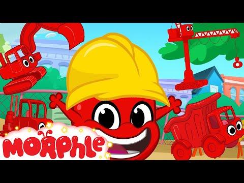 Morphle Loves Building! Morphle Shorts  1 hour My Magic pet Morphle kids vehicle compilation