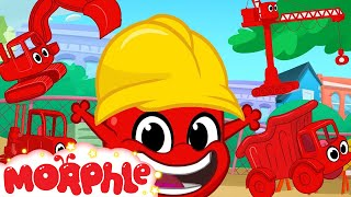 Morphle Loves Building! Morphle Shorts (+1 hour My Magic pet Morphle kids vehicle compilation)