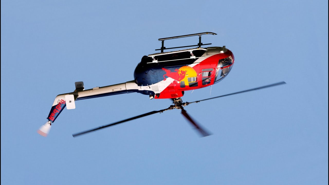 red bull helicopter   awesome show   lauderdale 2013