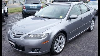 2007 Mazda 6 S Grand Touring V6 Walkaround, Start up, Tour and Overview