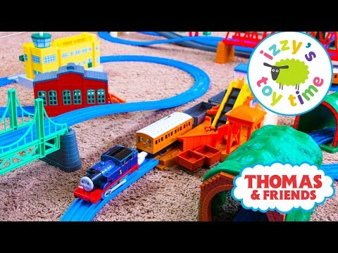 Thomas and Friends | Thomas Train HUGE TOMY TRACKMASTER TRACK! Fun Toy Trains for Kids and Children