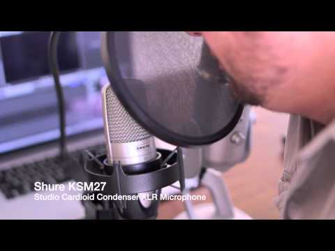 Sound Test: Blue Yeti vs Shure KSM27 Studio Microphone