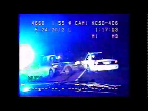 RAW VIDEO: Robbery suspect leads Kershaw Co. Deputies on high speed chase