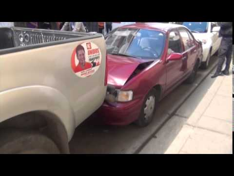 SERENAZGO CAJAMARCA - Accidente Múltiple/Persona Herida/ 01-09-14