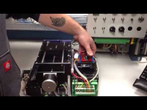 Nate Becker demo of his X-Y stage controlled by Arduino and Anaheim Automation stepper controller