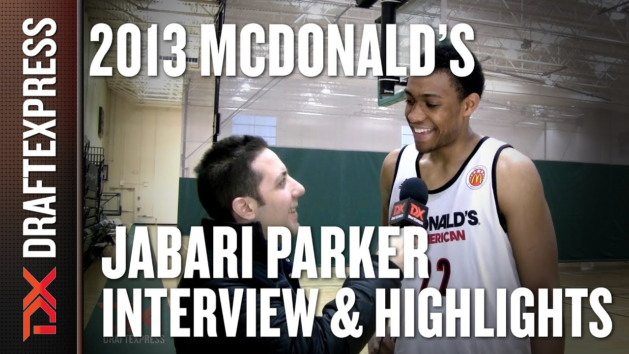Jabari Parker - 2013 McDonald's All-American Game ... Jabari Parker Simeon