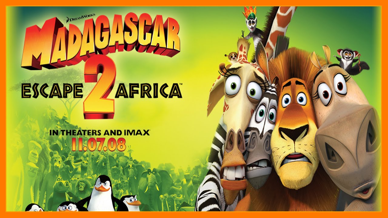 Learn English With Movie Clips  Madagascar 3 Part1